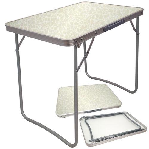 Grand Portable MDF En bois haut pliable Table de salle à manger de jardin Extérieur Picnic Camping