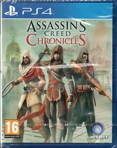 Assassins Creed Chronicles Game Ps4 New Sealed 3307215916254