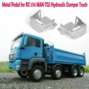 LESU-DIY-Metallpedal-fuer-RC-1-14-MAN-TGS-Hydraulische-Muldenkipper-Kipper-Modell
