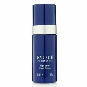 Evote-Beauty-12h-BioComplex-Power-Restore-Night-Face-Serum-1-oz-NIB-SEALED