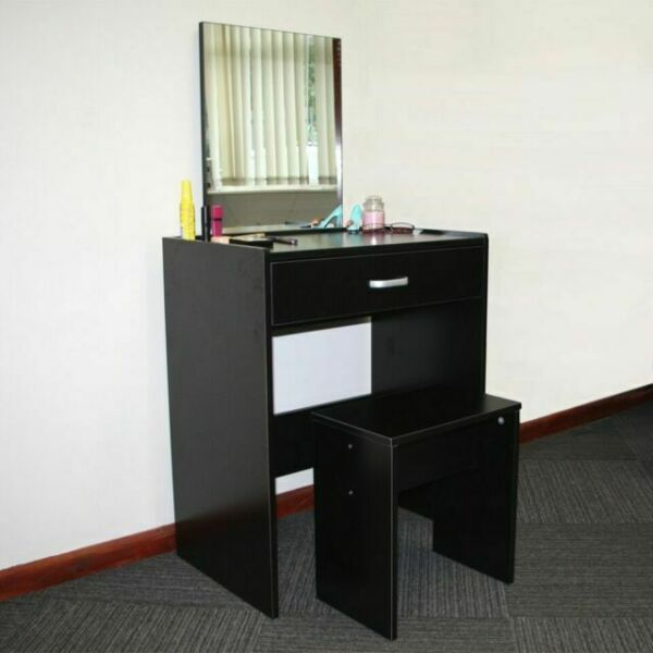 Redstone Dressing Table With Stool And, Redstone Dressing Table With Stool And Mirror White