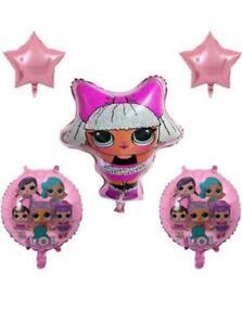 "17/"" LOL Surprise Foil Balloon Helium Girls Birthday Party Decoration Childrens"