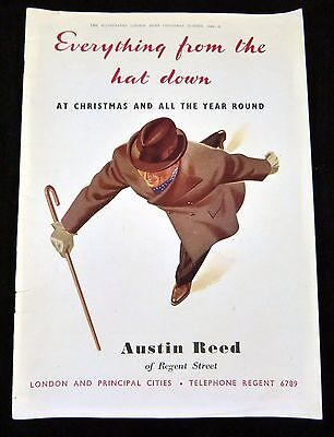 Magazine Ad Austin Reed Of Regent Street Illustrated London News Christmas 1944 Ebay