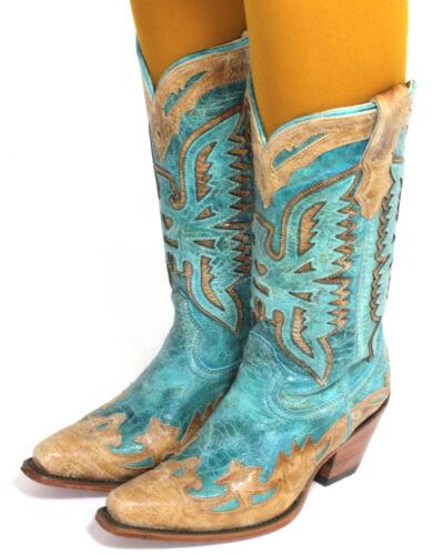 14 Stivali da Cowboy Texas Rudel Catalano Stile Stivali Moda 35