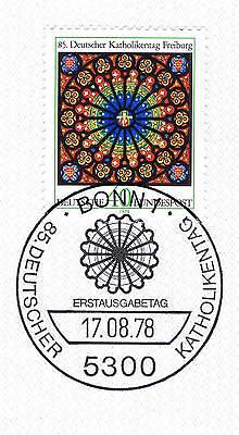 Brd 1978: Freiburger Münster Nr. 977 Mit Bonner Ersttags-sonderstempel! 1a! 1701 Hoher Standard In QualitäT Und Hygiene