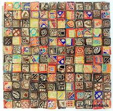 KER-AV Feinsteinzeug Mosaikfliese L153 Rondo Mix Bunt mit Glitzer 30cm x 30cm