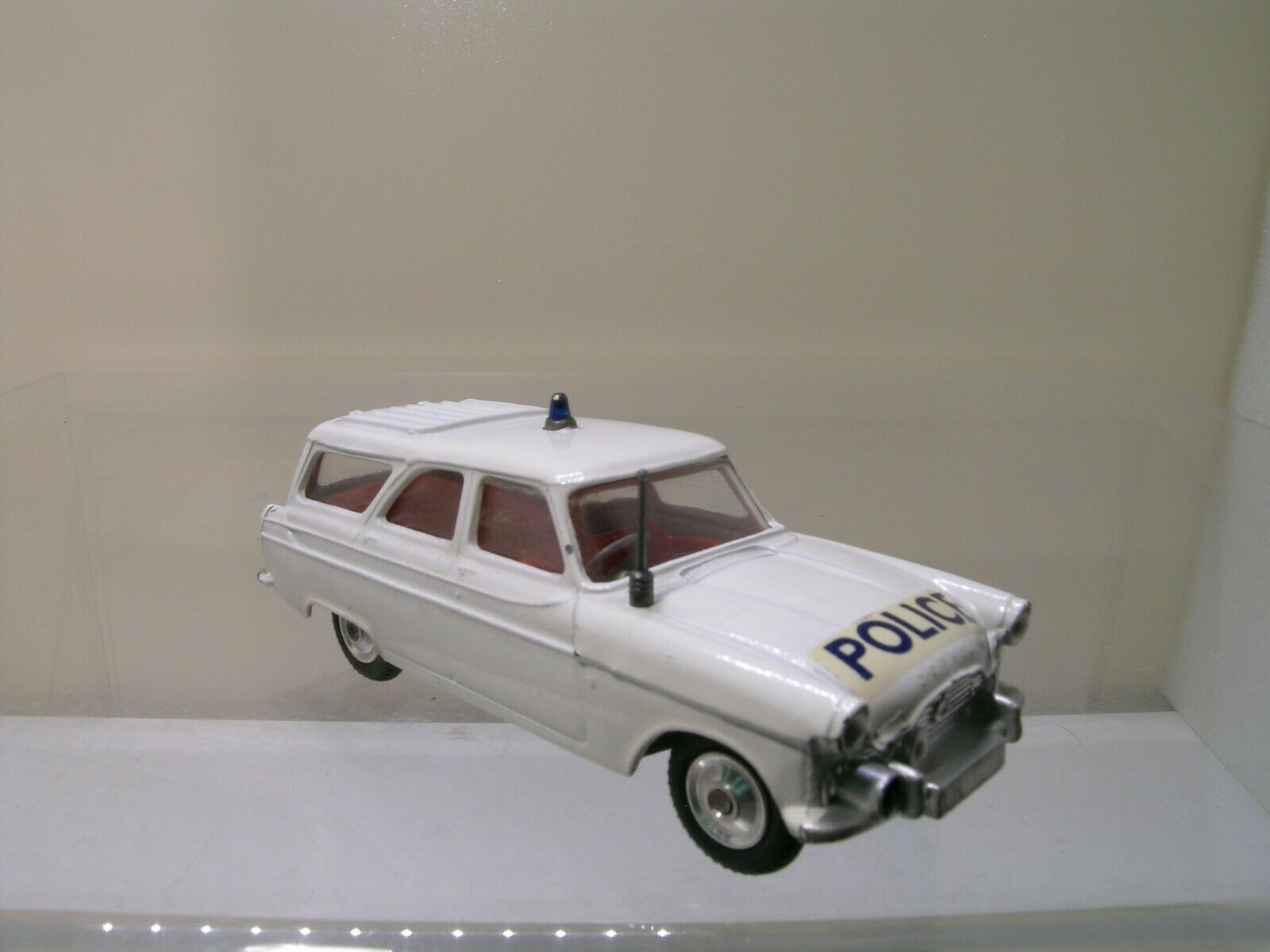 CORGI giocattoli UK No.419 FORD ZEPHYR MOTORWAY PATROL polizia NMM SCALE 1 43