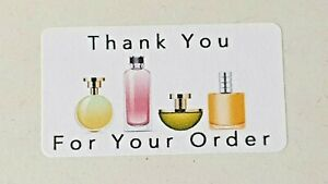 325-x-Thank-You-for-Your-Order-Labels-Purfume-Scent-Avon-Matte-Labels-Stickers