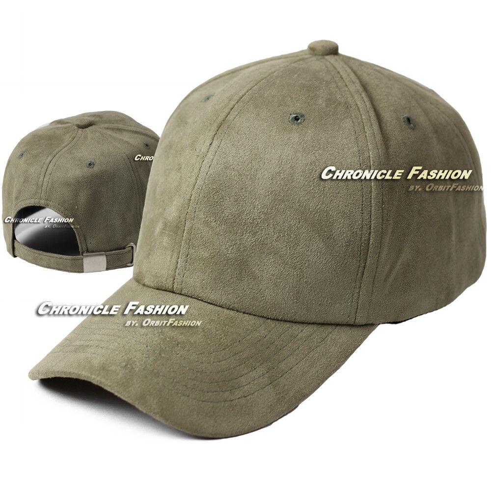9fa46a986d9 Suede Hat Baseball Cap Soft Plain Classic Strapback Adjustable Solid ...