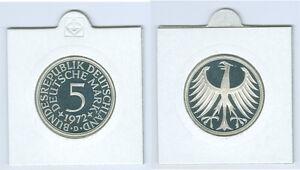 Rfa 5 DM Aigle Argenté Pp (Choisissez Entre Les Années : 1964 - 1974 Et Dfgj )