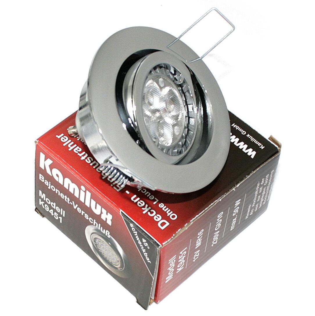 LED 5 5 5 Watt High Power Bad Einbaustrahler Bajo  GU10 Fassung  230V LM Birne | Verschiedene Waren  | Neuer Eintrag  | Authentisch  5d8107