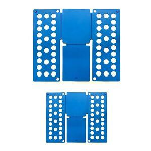 2er-Set-Faltbrett-Blau-Waeschefalter-Kunststoff-Waeschefaltbrett-Hemdenfalter