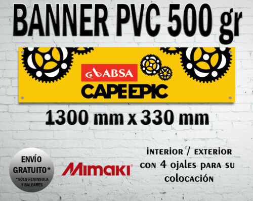 CANVAS CARTEL BANNER CAPE EPIC MTB BTT CYCLING AFRICA ADVENTURE WORKSHOP CAVEMAN