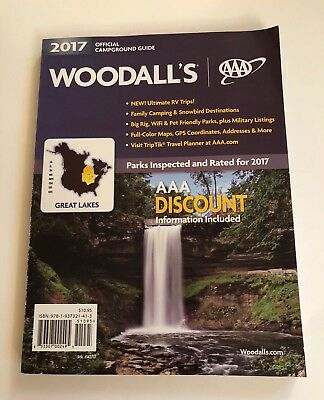 Woodall's 2017 Campground Guide Book Great Lakes IA IL IN MI MN OH WI ON |  eBay