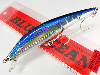 TACKLE HOUSE K-TEN BLUE OCEAN BKS-140 35g #110 GOLD RED