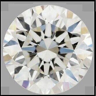 Blanco Suelto Moissanita De 0.53Ct a 1.90Ct De Calidad Excelente Corte brillante redondo Vvs