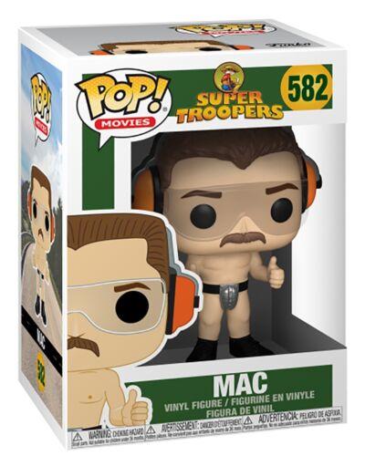 Funko POP Vinyl Super Trooper Mac Figure No 582