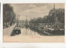 's Gravenhage Groenwegje Netherlands Vintage U/B Postcard Rommler Jonas 405b