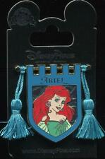 Princess Tapestry Ariel Little Mermaid Banner Tassel Disney Pin 121173