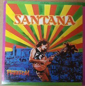 Santana-Freedom-LP-Vinyl-Schallplatte-Rock-Sammlung-AMIGA-8-56-348