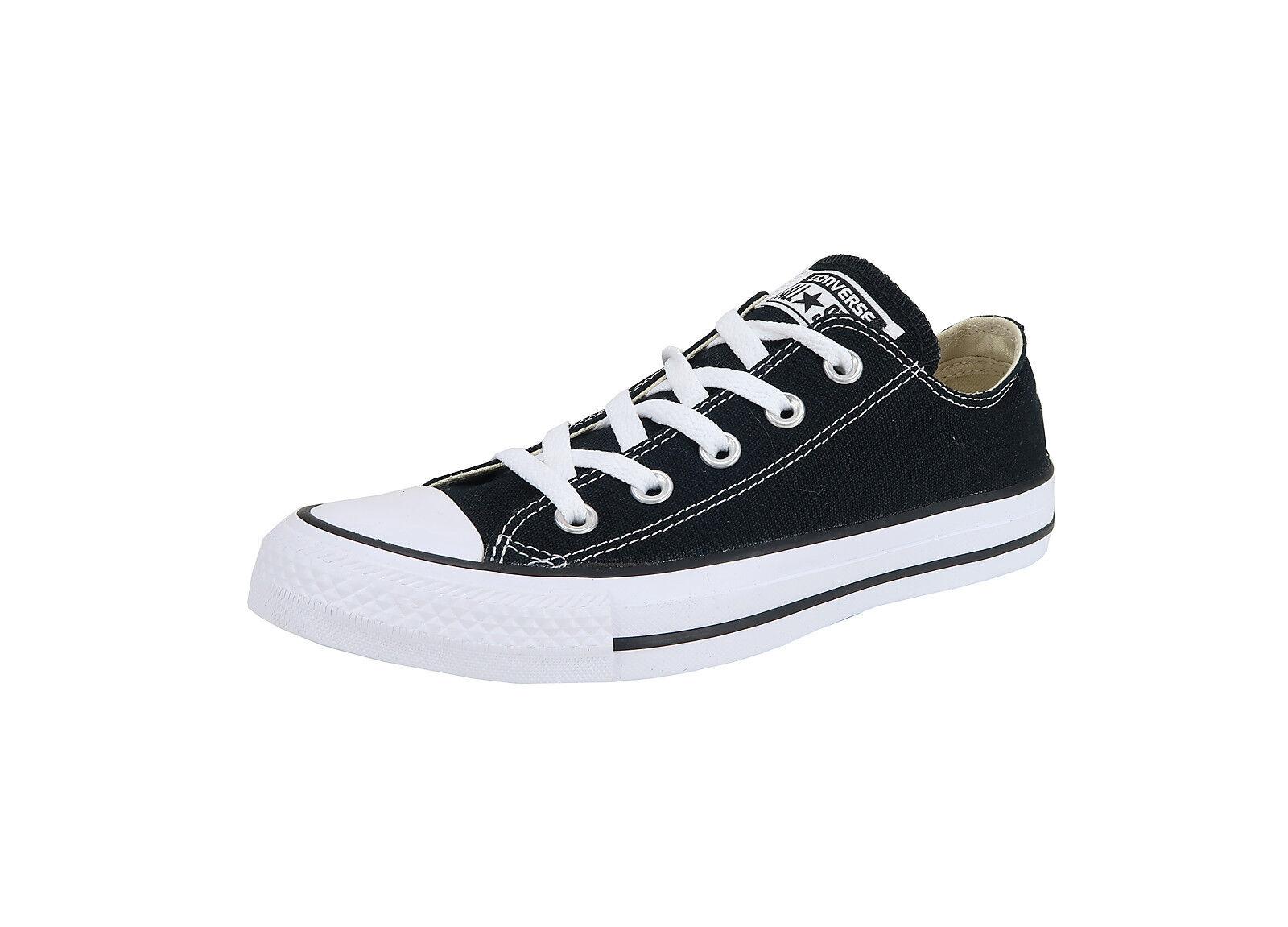 Converse Femme Chaussures Classic Chuck Taylor Low Top Noir Blanc Fashion CTAL