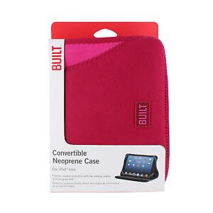 BUILT-Neoprene-Convertible-Case-for-iPad-Mini-Cherry-and-Pink-Crush