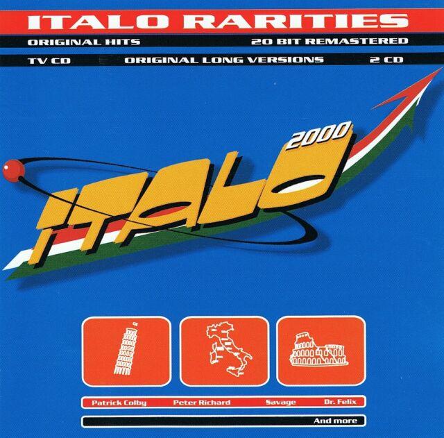 Italo 2000 Rarities - 2 CD NEU Patrick Colby Savage Scotch Fun Fun Valerie Dore