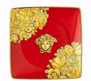 Versace-Rosenthal-Cup-Square-Flat-12-CM-Medusa-Rhapsody-Red-Versace