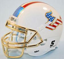 SOUTH FLORIDA BULLS (USA Flag/Chrome) Schutt XP Mini Helmet