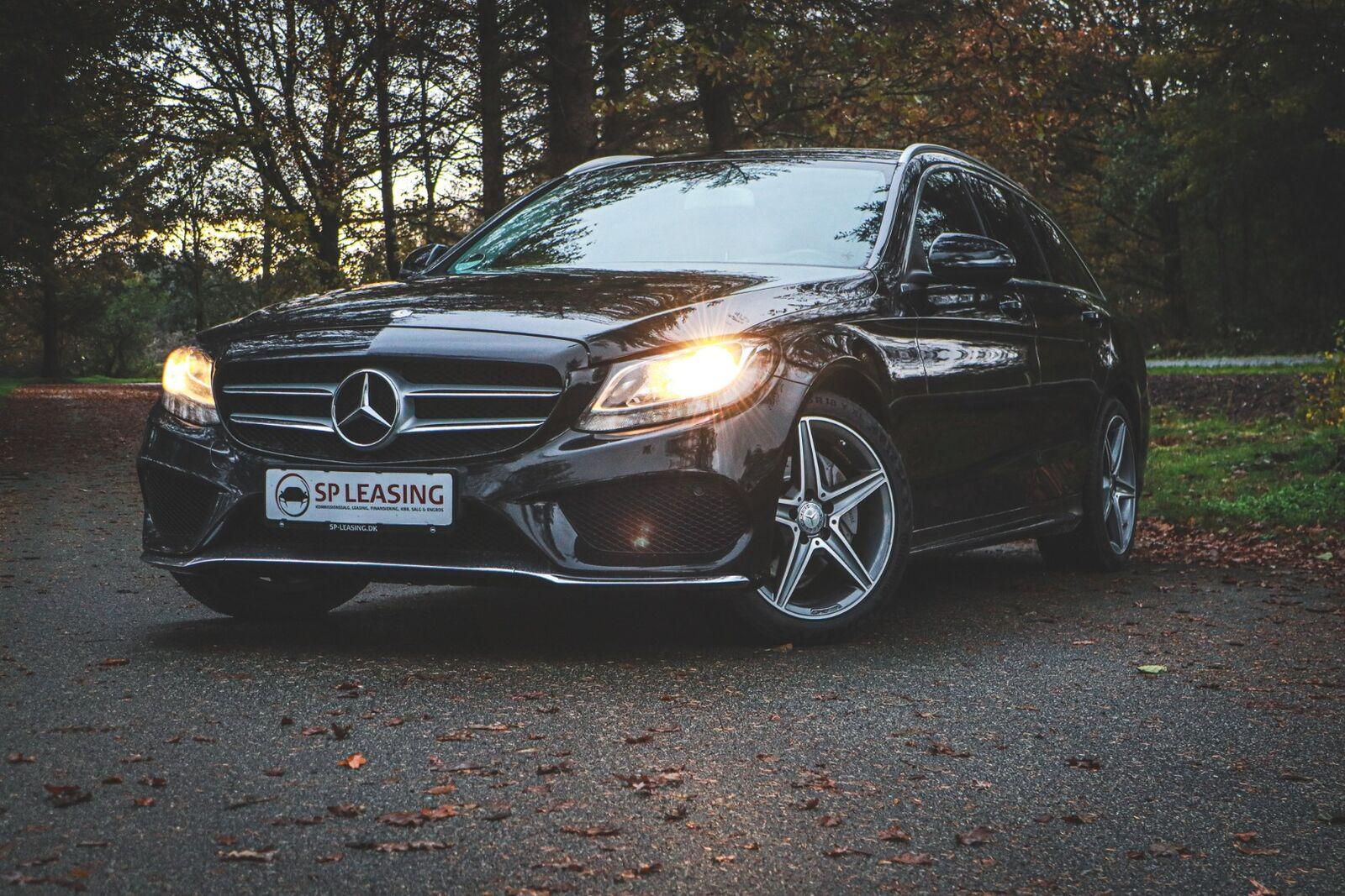 Mercedes C220 d 2,2 AMG Line stc. aut. 5d - 326.900 kr.