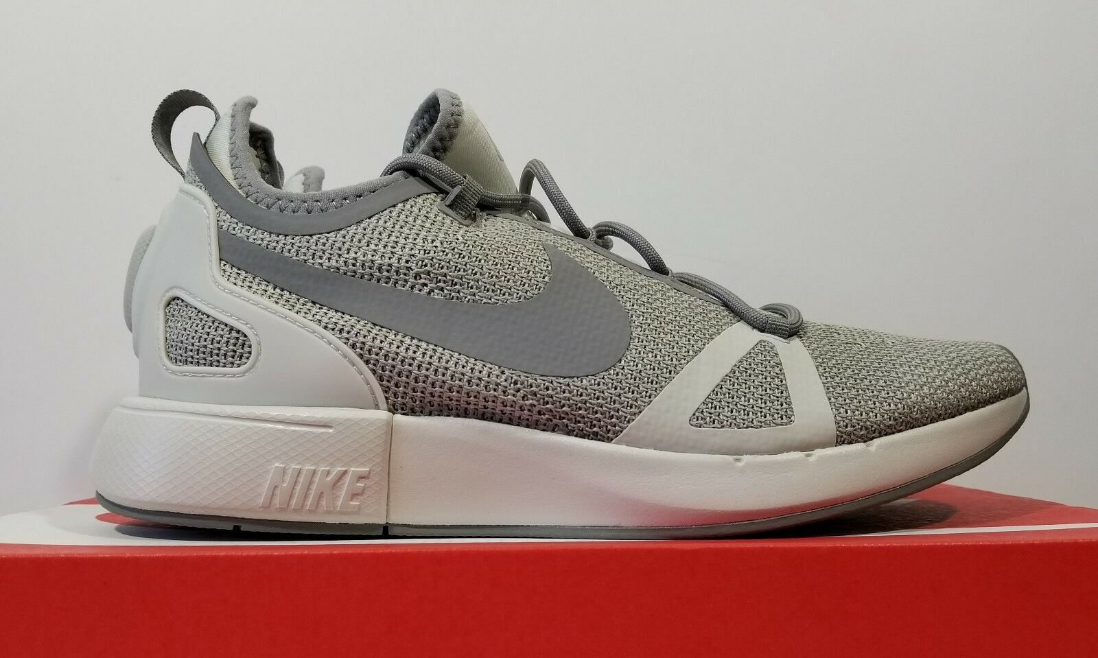 Nike Duel Racer Mens Running Cross Training shoes Grey Size 10