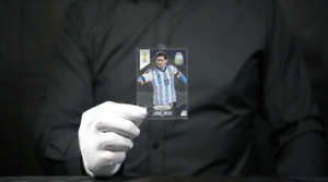 Panini-PRIZM-FIFA-World-Cup-Brazil-2014-Base-12-LIONEL-MESSI-039-The-Masked-Man-039
