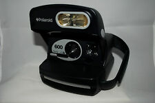 Polaroid 600, navy blue and grey, pod style, 90s, macro,fixed focus, lomography
