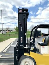 Yale Forklift Lift 12000 Lb Propane 4 Shifts In Exelent Working Condition