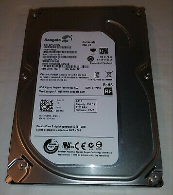 """Professionally Wiped and Tested 1.5TB SATA 3.5/"""" 7200RPM Desktop Hard Drive"""