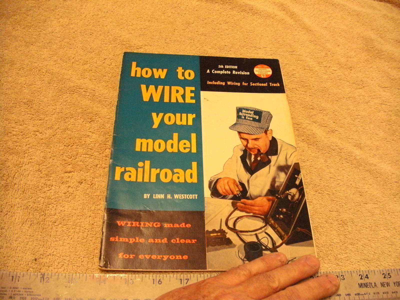1959 Railroad How To Wire Your Model By Linn Westcott Wiring 5th Edition Soft Cover