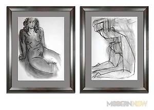 (2) Henri MATISSE Original Stone LITHOGRAPH Ltd Ed +FRAMING