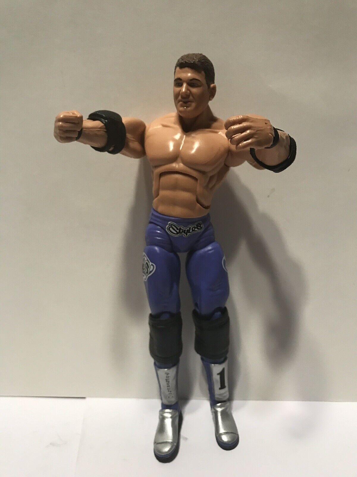 AJ STyles /& Jeff Jarrett TNA Wrestling Cross the Line Series 2 Action Figure Set