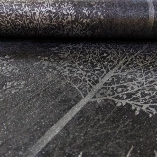 Arthouse Wonderland Tree Pattern Wallpaper Forest Stripe Motif Glitter 256704