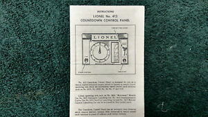 LIONEL-413-COUNTDOWN-CONTROL-PANEL-INSTRUCTIONS-PHOTOCOPY