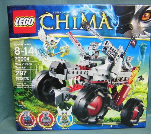 WAKZ/' PACK TRACKER 297 PCS LEGO #70004 LEGENDS OF CHIMA