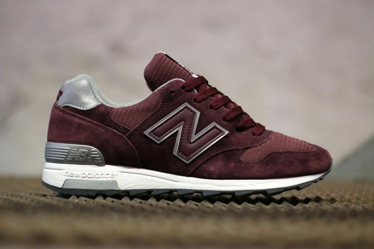 MENS NEW BALANCE NB 1400 BURGUNDY CHERRYWINE M1400CBB MADE IN USA CASUAL 6.5-9