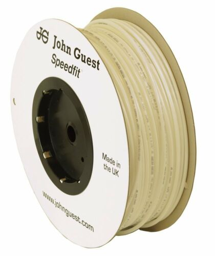 "John Guest LLDPE Tubing 1//4/"" Tube OD or 3//8/"" Tube OD 10 Feet for RO Water System"
