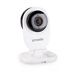 Zmodo 720P HD Mini Wi-Fi Network IP Home Security Camera - White 4090314