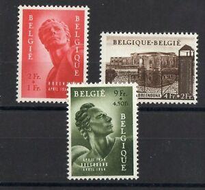Belgica-Serie-De-3-Sellos-Nueva-N-943-945-Valor