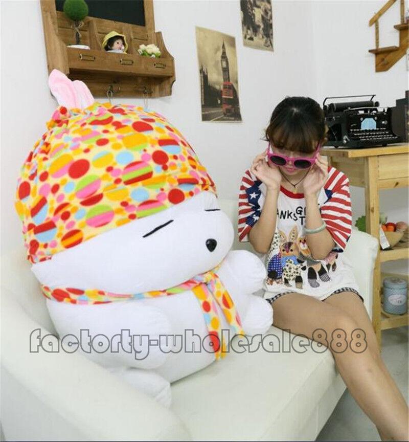 39  Giant Big Cute Rabbits Mashimaro Toy Stuffed Plush Doll Birthday Gift NEW us