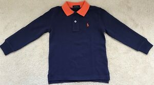 6 Polo Ralph Boys Sleeved Shirt Details About Years New Lauren Long HWYED29I