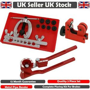 Metric-Brake-Pipe-Flaring-Kit-Fuel-Repair-Tool-Set-With-And-Bender-Tube-Cutter
