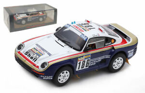Spark S7815 Porsche 959 #186 Winner Paris-Dakar Rally 1986 - R Metge 1/43 Scale