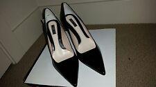 Zara Black Heel Pumps - Size 7.5